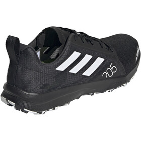 adidas TERREX Speed Flow Trail Running Shoes Women core black/crystal white/solar yellow